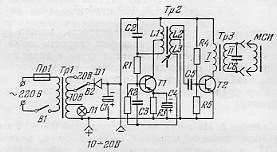 Схема тиристорного преобразователя напряжения фото 527